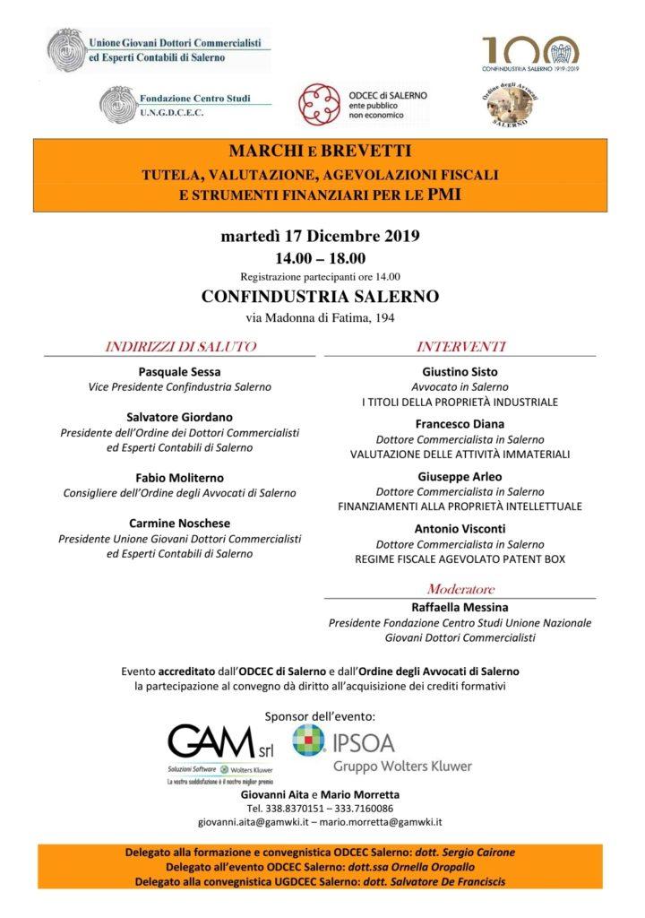 Convegno Salerno 17 12 2019